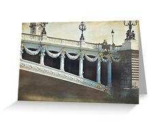 Pont Alexandre Greeting Card