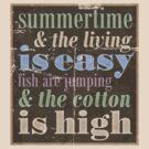 Summertime by sparklellama