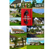 Irish Cottages Photographic Print