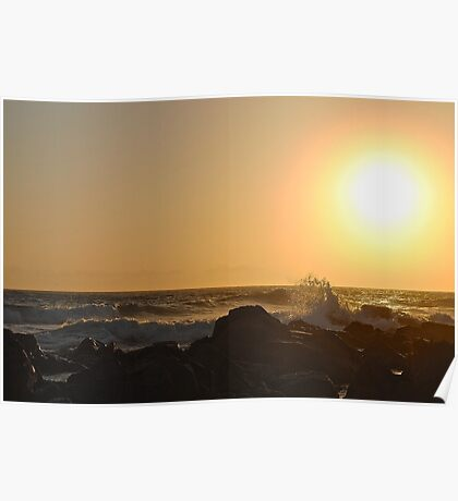 Hasting Point Sunrise 1 Poster