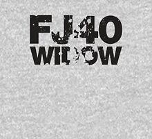 Fj40 Widow Bold Splat Womens Fitted T-Shirt