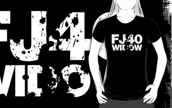 FJ40 Widow Bold Splat (W) by FJ40Widow