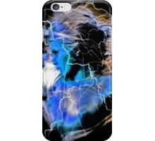 Flash girl blue iphone iPhone Case/Skin