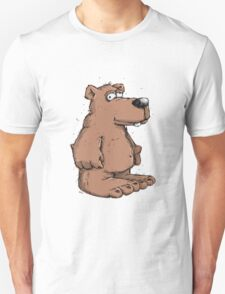 Funny brown bear  T-Shirt