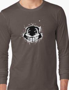 Conker - Black and White Long Sleeve T-Shirt