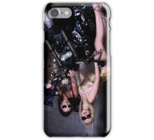 Harley Davidson girl 09 iPhone Case/Skin