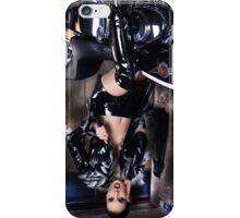 Harley Davidson girl 10 iPhone Case/Skin