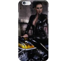 Harley Davidson girl 11 iPhone Case/Skin