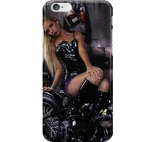 Harley Davidson girl 12 iPhone Case/Skin
