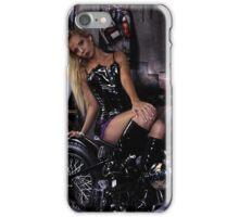 Harley Davidson girl 12 iPhone Case/Skin