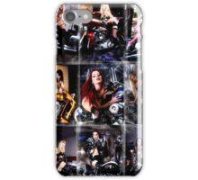 Harley Davidson girl 13 iPhone Case/Skin
