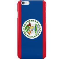 Belize Flag iPhone Case/Skin