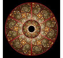 Wheel of Illusions I Photographic Print