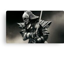 Dark Souls 2 Warrior Canvas Print