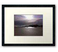 Tiree Beach Framed Print