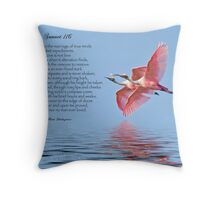 Shakespeare's Sonnet 116 Throw Pillow