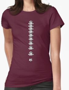 Spinal Womens Fitted T-Shirt