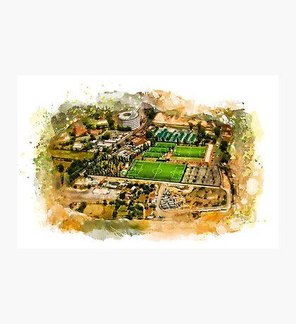 Rome aerial photo Photographic Print