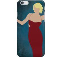 Caprica 6, minimalist Battlestar Galactica design iPhone Case/Skin