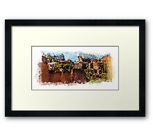 Rome architecture Framed Print