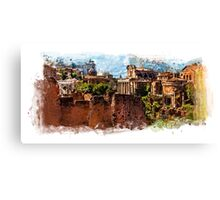 Rome architecture Canvas Print