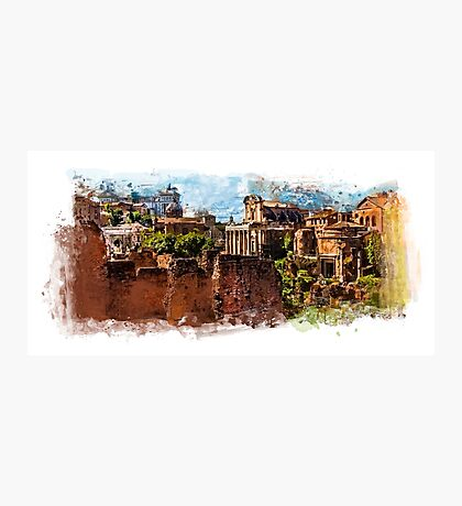 Rome architecture Photographic Print