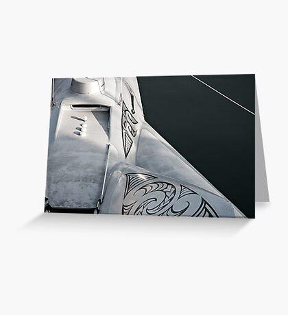 Earthrace Greeting Card
