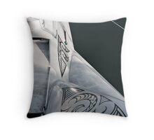 Earthrace Throw Pillow
