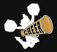 "Cheerleader ""CHEER"" Dark by SportsT-Shirts"