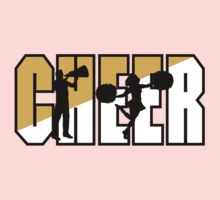 "Cheerleading ""CHEER"" Kids Tee"