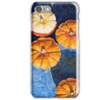 """Four pumpkins"" iPhone Case/Skin"