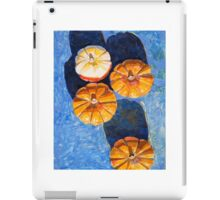 """Four pumpkins"" iPad Case/Skin"