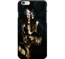 Angel girl art 01 iPhone Case/Skin