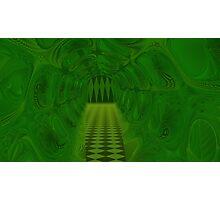 Falling Into A Warped Tessellation Disintegtration Photographic Print