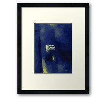 When I Am Gone Framed Print