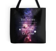 Once Upon a Time- The Lunar Chronicles- Marissa Meyer- Space Purple Tote Bag