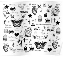 Harry Styles' Tattoos! Poster