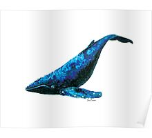 Blackberry the Blue Whale Poster