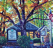 'MEMORIAL PARK' (BLOWING ROCK, NC)  by Jerry Kirk