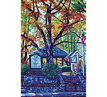 'MEMORIAL PARK' (BLOWING ROCK, NC)  Photographic Print