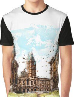 Rome street Graphic T-Shirt