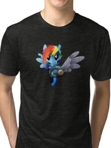 Warrior Rainbow Dash Tri-blend T-Shirt