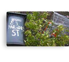 "89 ""Paradise"" Street Canvas Print"