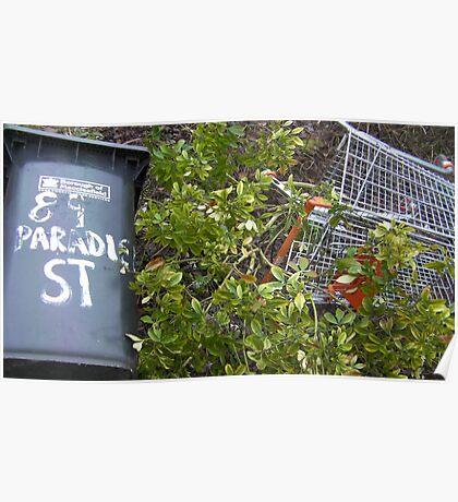 "89 ""Paradise"" Street Poster"