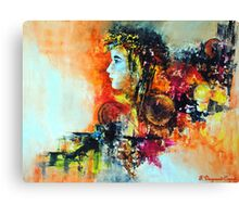 Prelude, featured in Artists Universe, Solo Exhibition Canvas Print