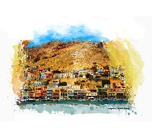 Kalymnos, Greek Island Photographic Print