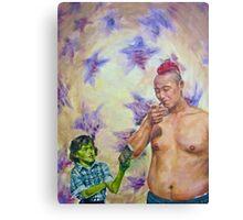 Indica and Sativa Canvas Print