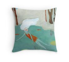 quilpo1 Throw Pillow