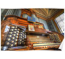 The Saltaire United Reformed Church Organ Poster