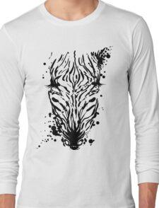 Zebra Ink Long Sleeve T-Shirt